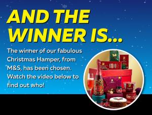 Christmas Hamper Winner!