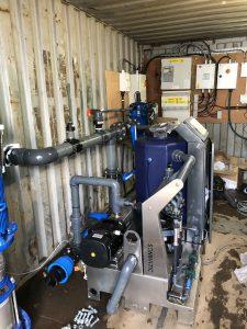First Senmatic Penta mixing rig in Scotland